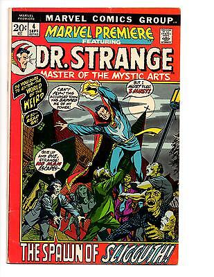 Marvel Premiere #4 Vf+ Classic Dr. Strange Barry Windsor Smith New Movie!