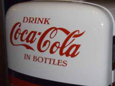 Large Red Correct Coca Cola Decal Vinyl Graphic For Restoration