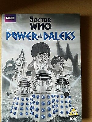 Doctor Who signed DVD The Power of the Daleks