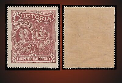 1897 VICTORIA ALLEGORY OF CHARITY & QUEEN VICTORIA 2.1/2p NEVER H SC. B2 SG.354