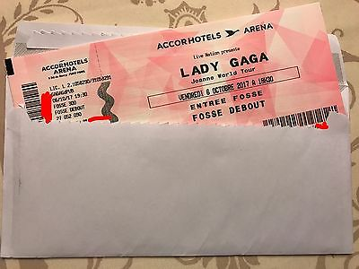 2 Places Fosse Lady Gaga - 06/10/17 - AccorHotels Arena