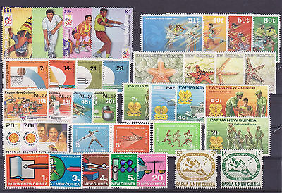 Papouasie Nouvelle-Guinée / Papua New Guinea Lot Timbres ** / MNH Luxe