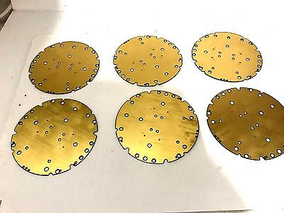 6 Gold Plated High Yield  Double Side   Scrap Recovery Gold Or Collector