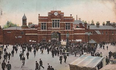 Old Postcard of the Royal Arsenal Woolwich London