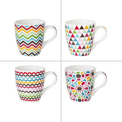 Trend'up - Tasse 23Cl Mosaic Assorties (Lot De 4)