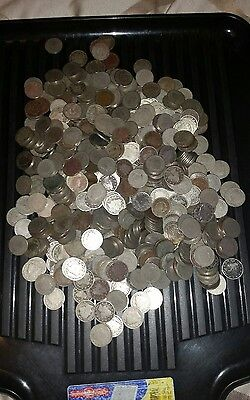 Us Liberty V Nickels Lot, 650 Coins, Coin Collection