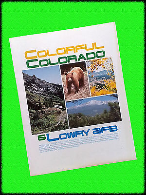 """""""Colorful Colorado & Lowry AFB"""" Welcome Guide, 1979, Military Publishers"""