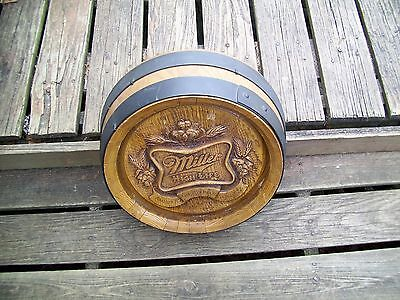 Miller High Life Keg Barrel Wall Sign