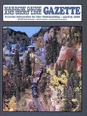 Narrow Gauge and Short Line Gazette - January, 2008 - No visible defects