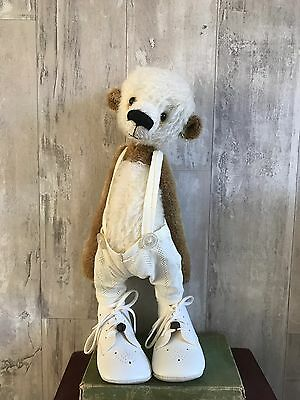 Artist Jointed Mohair Bear Vintage Antique Style