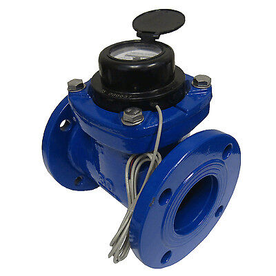 "New Prm 3"" Woltmann Helix Style Water Meter For Totalization And Rate Indication"