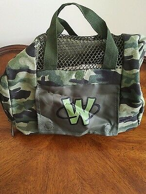 Webkinz Plush Camo Green Pet Carrier, Army Camouflage Pattern, Guc