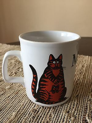 Vintage B Kliban Cat Mug Momcat - Kiln Craft, Staffordshire England