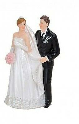 Wedding Couple Bride And Groom Wedding Cake Topper / Table Ornament