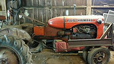 1942 Allis Chalmers Model C with accessories
