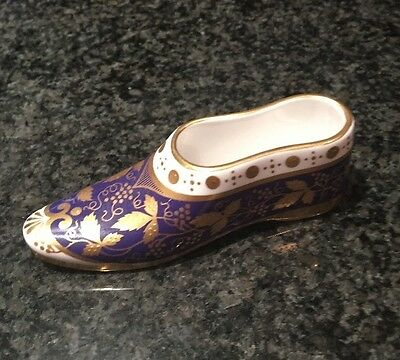 Spode Miniature Shoe - Compton & Woodhouse