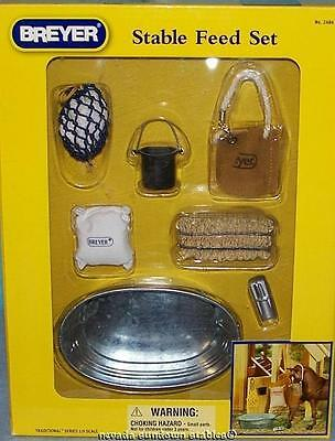 Breyer Model Horse Accessories Traditional size Stable Feed set
