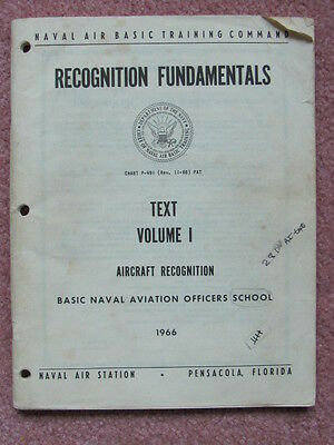 US USSR Aircraft Recognition Fundamentals Volume I Naval Air Station Pensacola