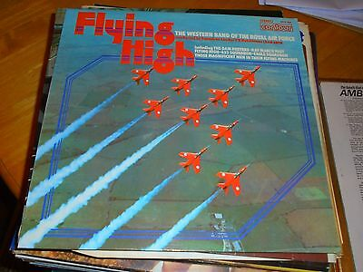 Lp/ Western Band Of Royal Air Force /flying High ( 1975 Uk Contour