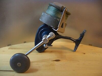 Carrete pesca antiguo MITCHELL 496 Azul Moulinet ancien pêche old fishing reel