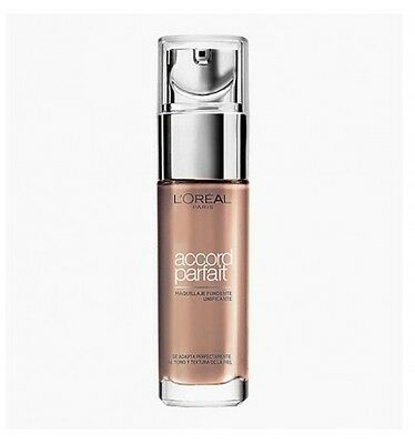 Maquillaje, Rostro, Bases Fluidas - L'OREAL ACCORD PARFAIT 4N