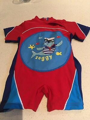 Zoggs Inflatable Swim Suit Age 1-2 Years