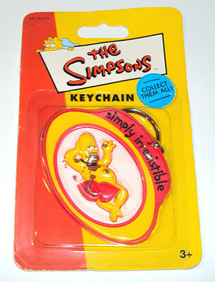 The Simpsons Homer Simpson Simply Irresistible Key Chain Simpson Key Ring New