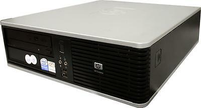 HP PC DC7900 SFF Desktop PC Core 2 Quad Q9400 4x 2,6GHz 8GB RAM 160GB HDD W7 Pro