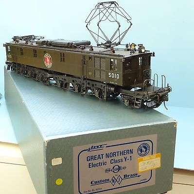 NJ Spur 0 Great Nothern Electric Class Y1, Messing