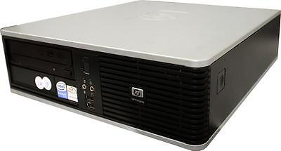 HP PC DC7900 SFF Desktop PC Core 2 Quad Q8200 4x 2,3GHz 4GB RAM 500GB HDD W7 Pro