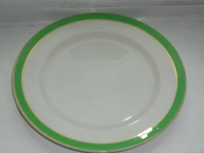 Queens Green Solian Ware From Soho Pottery Ltd 7inch Side Tea Plate