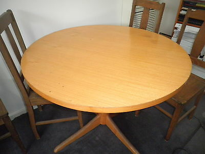kitchen table - solid laminated timber