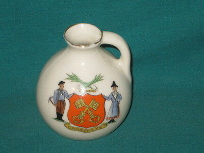 Arcadian China Ewer - CROSSKEYS crest