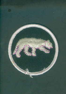 Boy Scouts Patch Panther