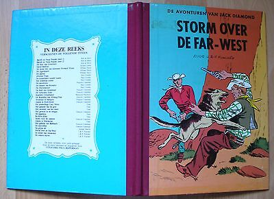 JACK DIAMOND - STORM OVER DE FAR-WEST - RIJPERMAN - L. & F. FUNCKEN Kuifje