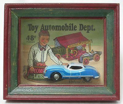 Toys In The Cupboard, Toy Automobile Dept. Diorama