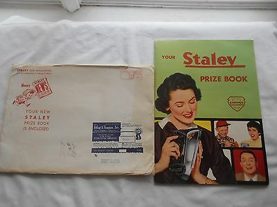 1957 Staley Products Prize Book-Staley News- & Lg.envelope-Staley Prize Headqtrs