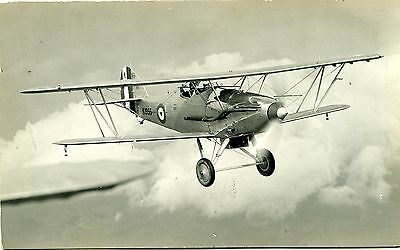 Hawker Hart - Old Real Photo Postcard View 2
