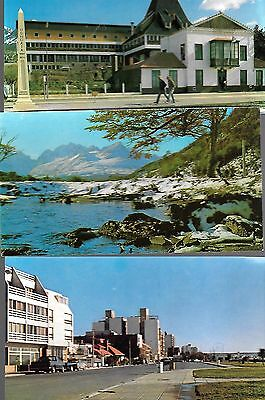 """LOT of 5 POSTCARDS-Argentina other than Buenos Aires  4"""" x 7"""" Unused Glossy VG"""