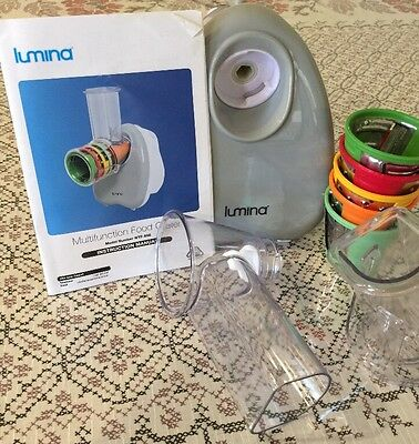Lumina Multifunction Electric Food Grater NEW