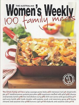 100 Family Meals Cookbook  by The Australian Women's Weekly  (Paperback, 2010)