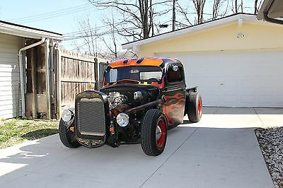 1940 Ford Other Pickups Flames 1940 Ford Rat Rod Pickup