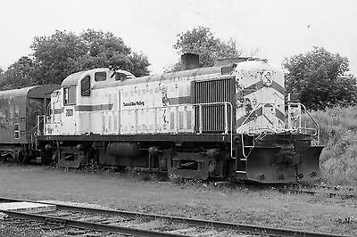 Railway Negative Lamoille Valley Railroad Co Rs3 # 7801 May 2001