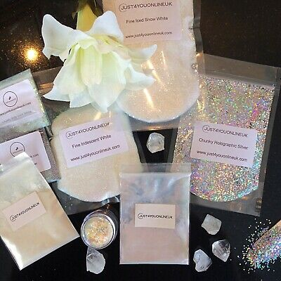 Glitter bags Nail Art Cosmetic Face Paints Craft Festival 10 50 100g Chunky/Fine