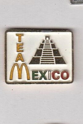 McDonalds Team Mexico Pin !!