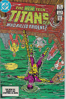 New Teen Titans 33 - 1983 - Perez - Very Fine