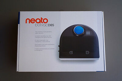 NEATO Botvac D85 Robot Vacuum Cleaner Laser Guidance Powerful Suction New in Box