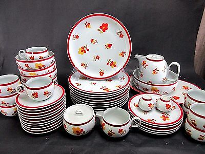 VTG 20 pc Service for 4 BLOCK PAPRIKA Hearthstone Vista Alegre Portugal