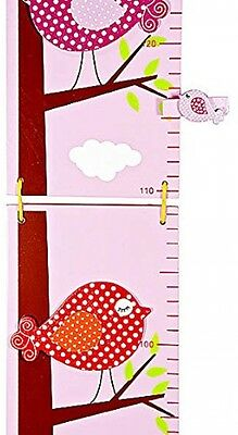 Height Chart Wall Growth For Girls Nursery Or Bedroom