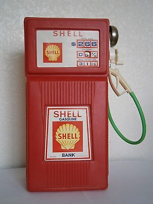 SHELL - Gas Pump - Toy - Bank